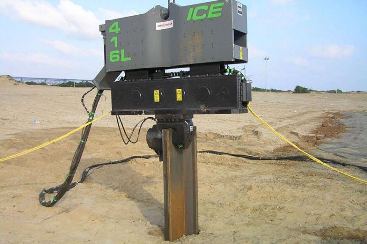 Вибропогружатель ICE 416L