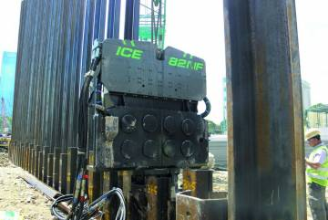 Вибропогружатель ICE 82NF