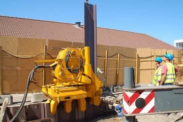 Установка статического вдавливания WATSON & HILLHOUSE Kowan – Pile Press – Still Worker  ZU-100