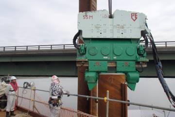 Вибропогружатель PVE 55M